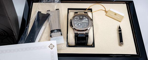 Eine Patek Philippe Luxusuhr aus einem Uhrenankauf in Nürnberg