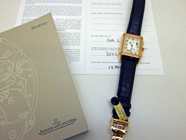 Foto einer Jaeger-LeCoultre Uhr aus dem Ankauf (2)