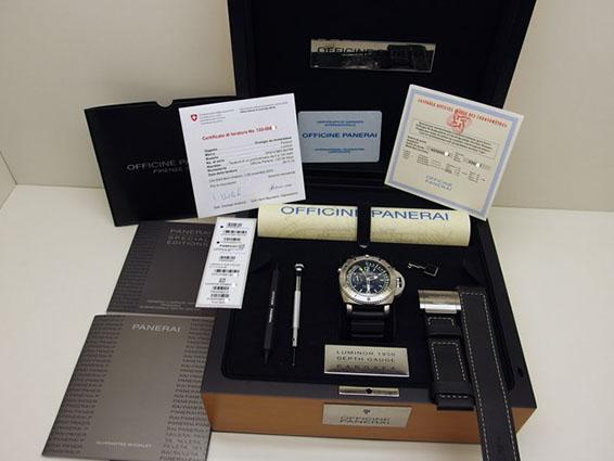 Gebrauchte Panerai-Uhr in der Original-Box