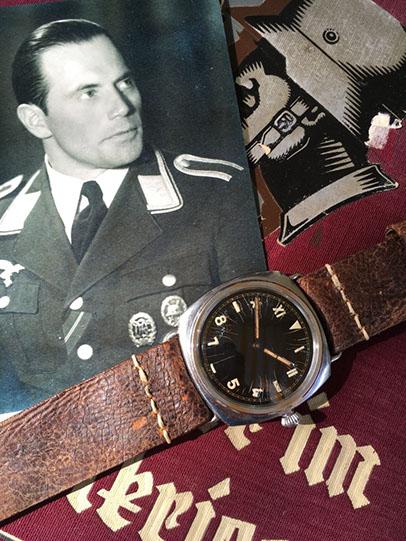 Historische Panerai-Uhr