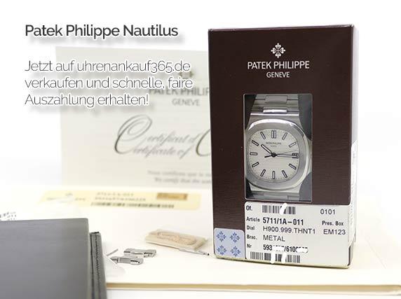 Patek Philippe Nautilus Ankauf