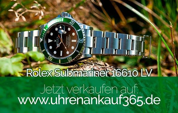 Rolex Submariner verkaufen