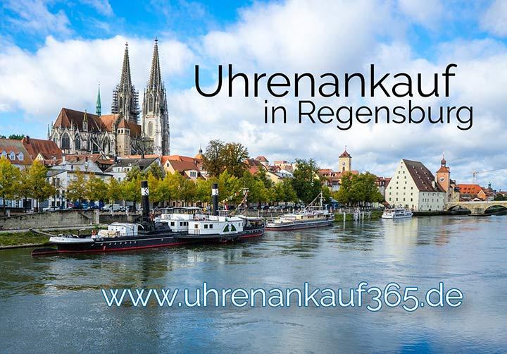 Uhrenankauf in Regensburg (Foto zeigt die schöne Altstadt)