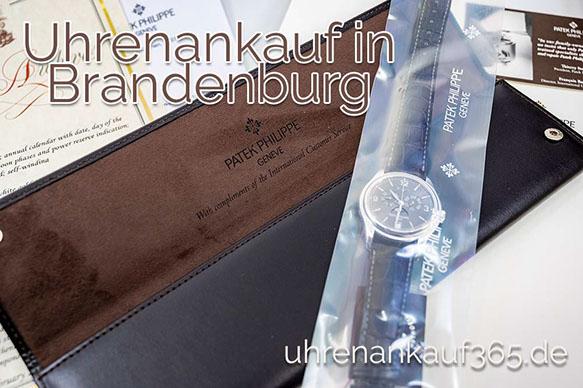 Uhrenankauf in Brandenburg: Abbildung einer Patek Philippe auf einer Originalbox