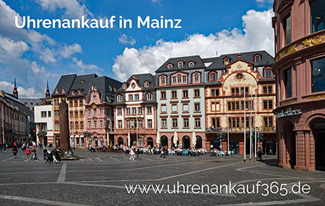 Uhrenankauf in Mainz (das Foto zeigt die schöne Altstadt von Mainz)