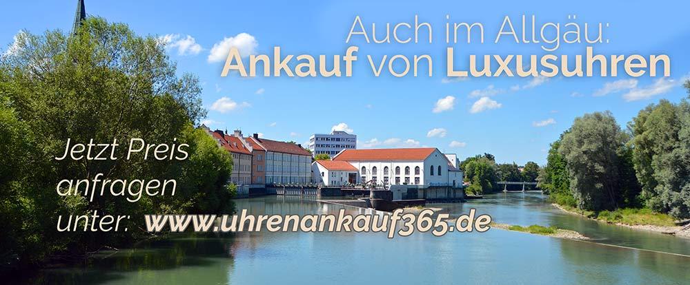 Uhrenankauf im Allgäu in Bayern