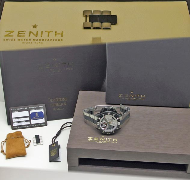 Zenith Uhr Ankauf Foto