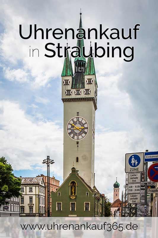 Uhren Ankauf Straubing - das Foto zeigt die Innenstadt